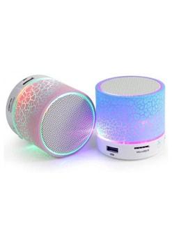 Navistha Led Sound Portable Bluetooth Mobile/Tablet Speaker (Multicolor)
